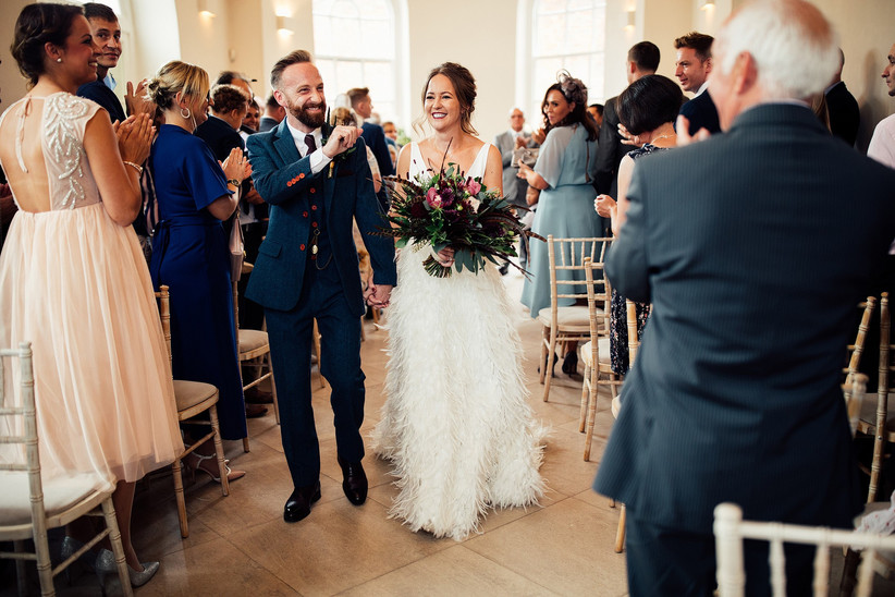 Sarah and Lee - Iscoyd Park Wedding