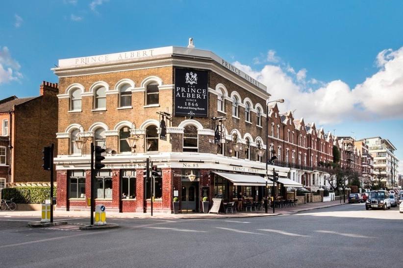 London Pub Wedding Venues The Prince Albert