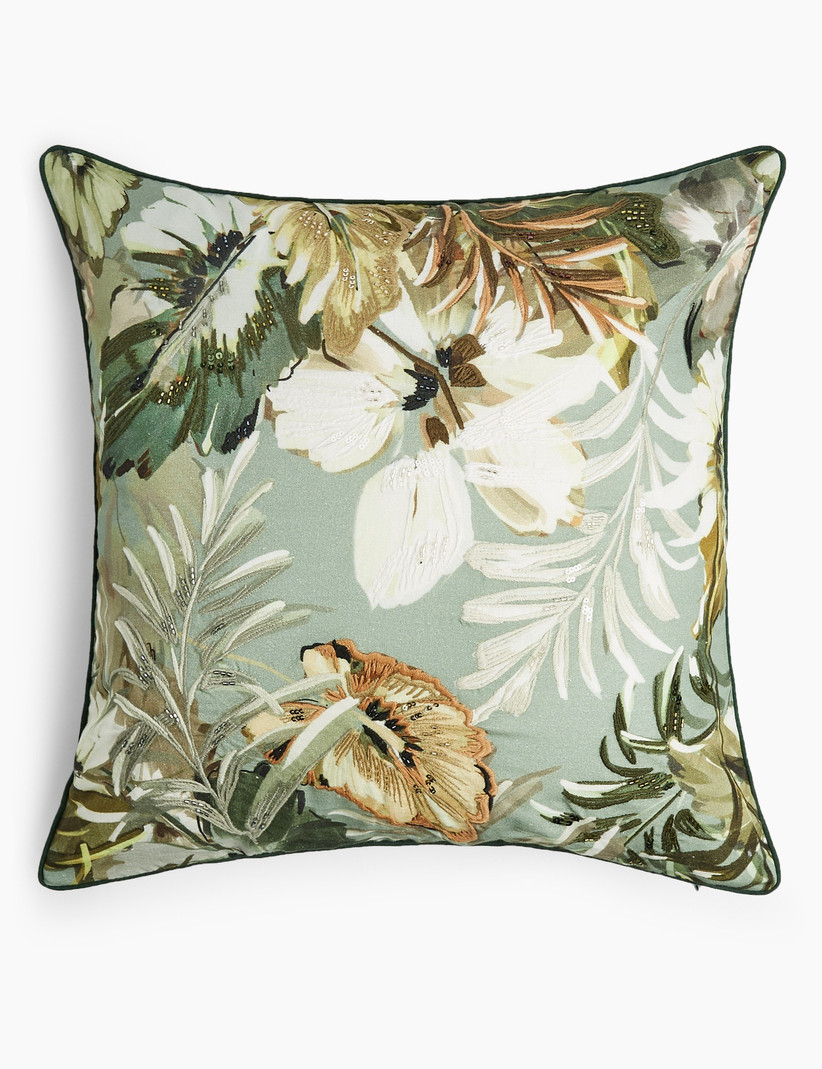 Floral cushion, Marks & Spencer