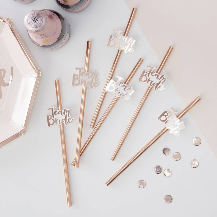 rose-gold-hen-party-straws