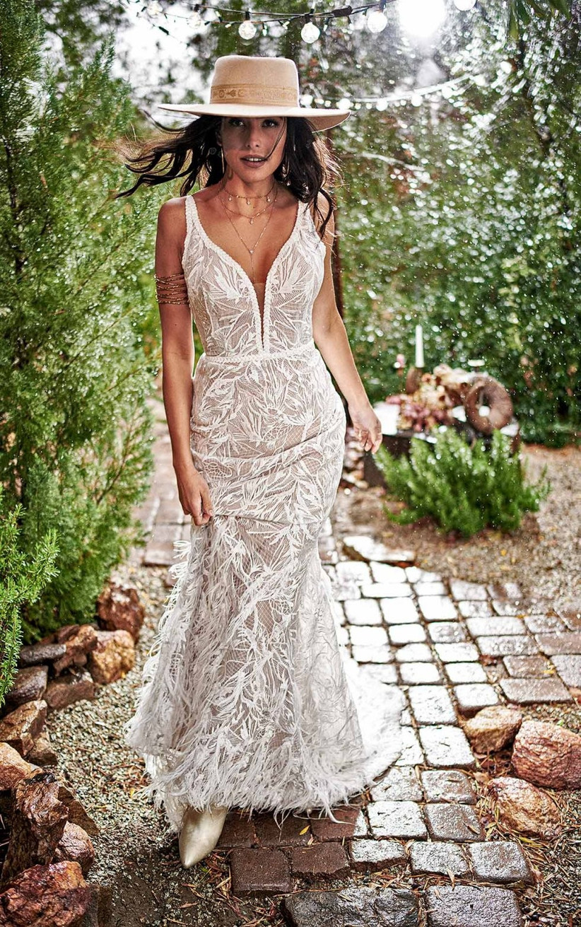 Fit and Flare Wedding Dresses