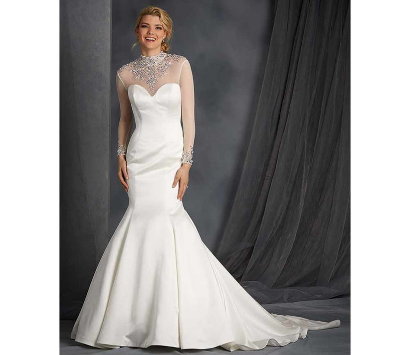 long-sleeved-winter-wedding-dress-by-alfred-angelo