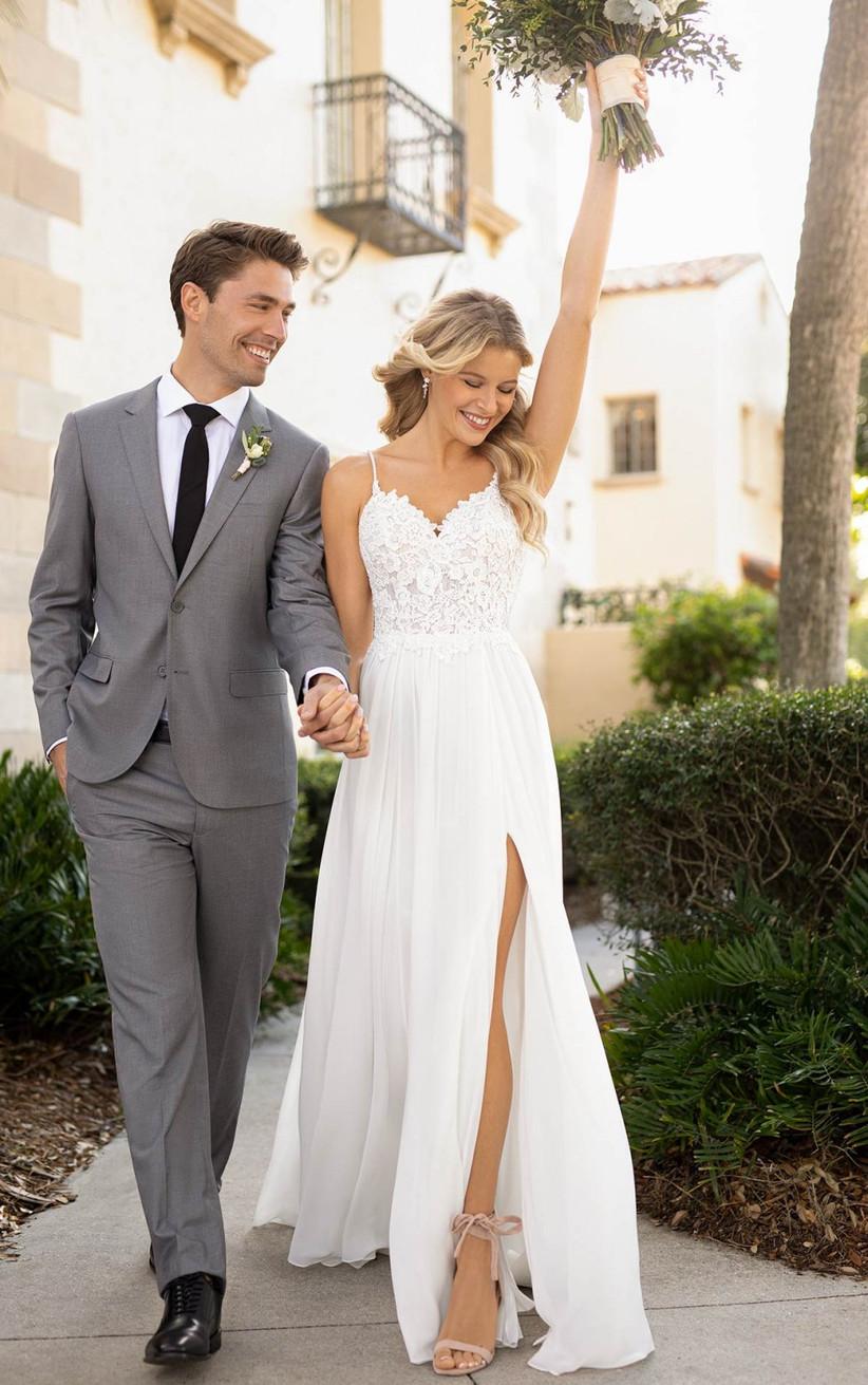 Beach Wedding Dresses 30 Beautiful Designs Hitched Co Uk