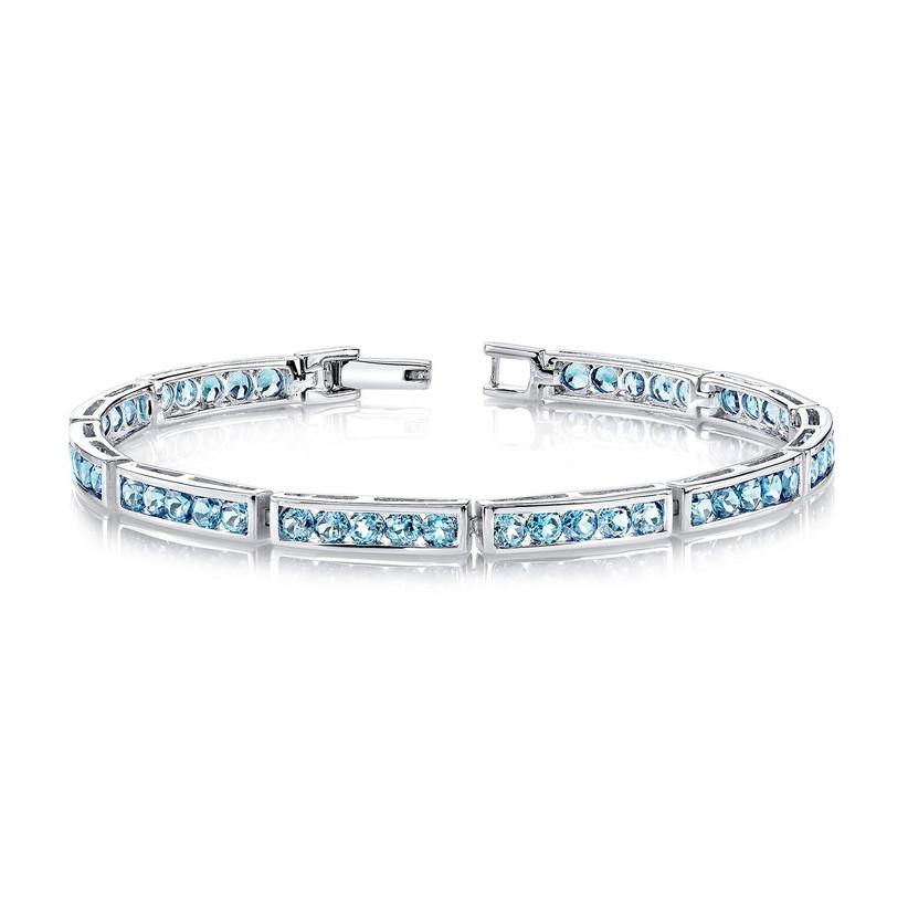 wedding anniversary stones - blue topaz