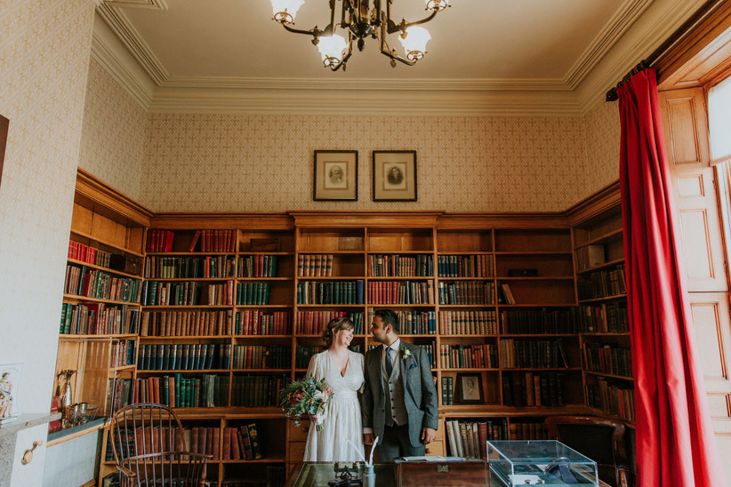 The study at Elizabeth Gaskell's house