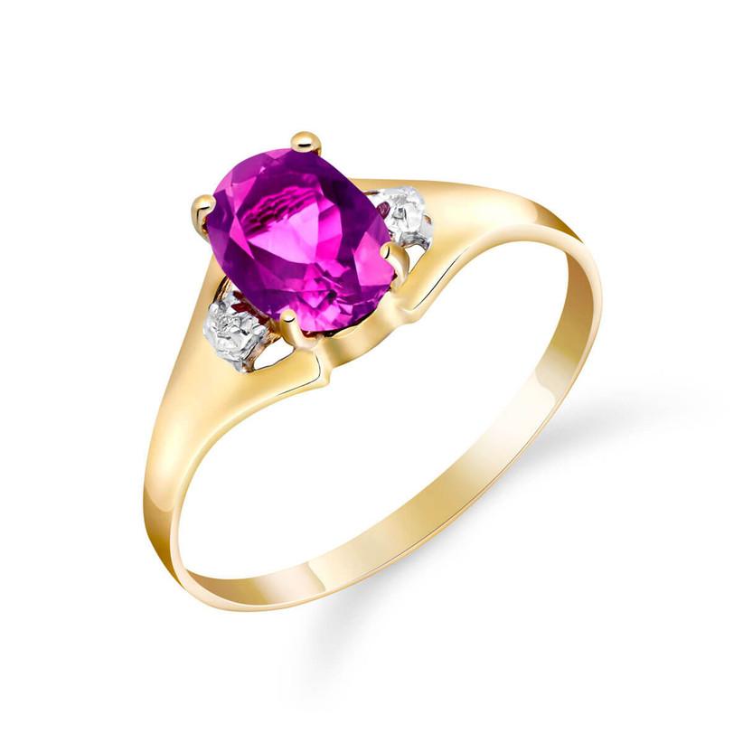 Topaz engagement ring
