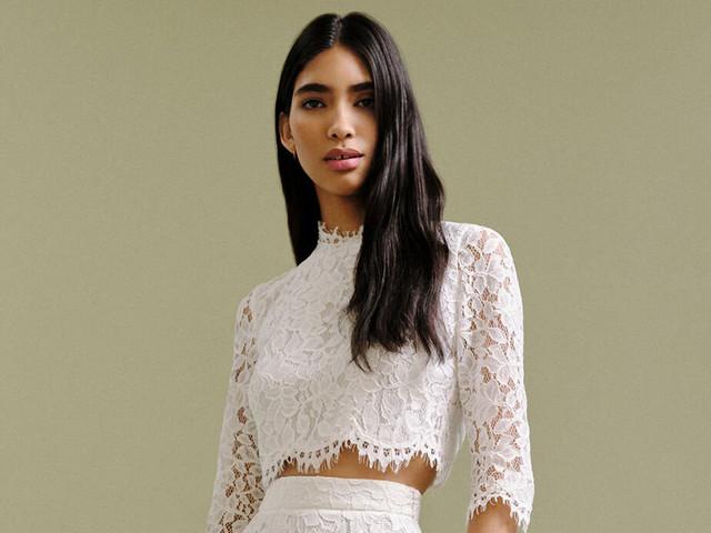 30 Best Two-Piece Wedding Dresses & Bridal Separates