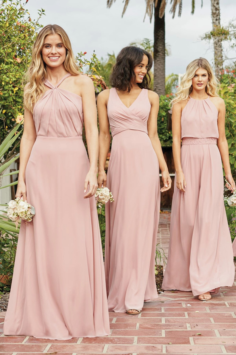 Jasmine Bridesmaids P216063 - pastel bridesmaid dresses
