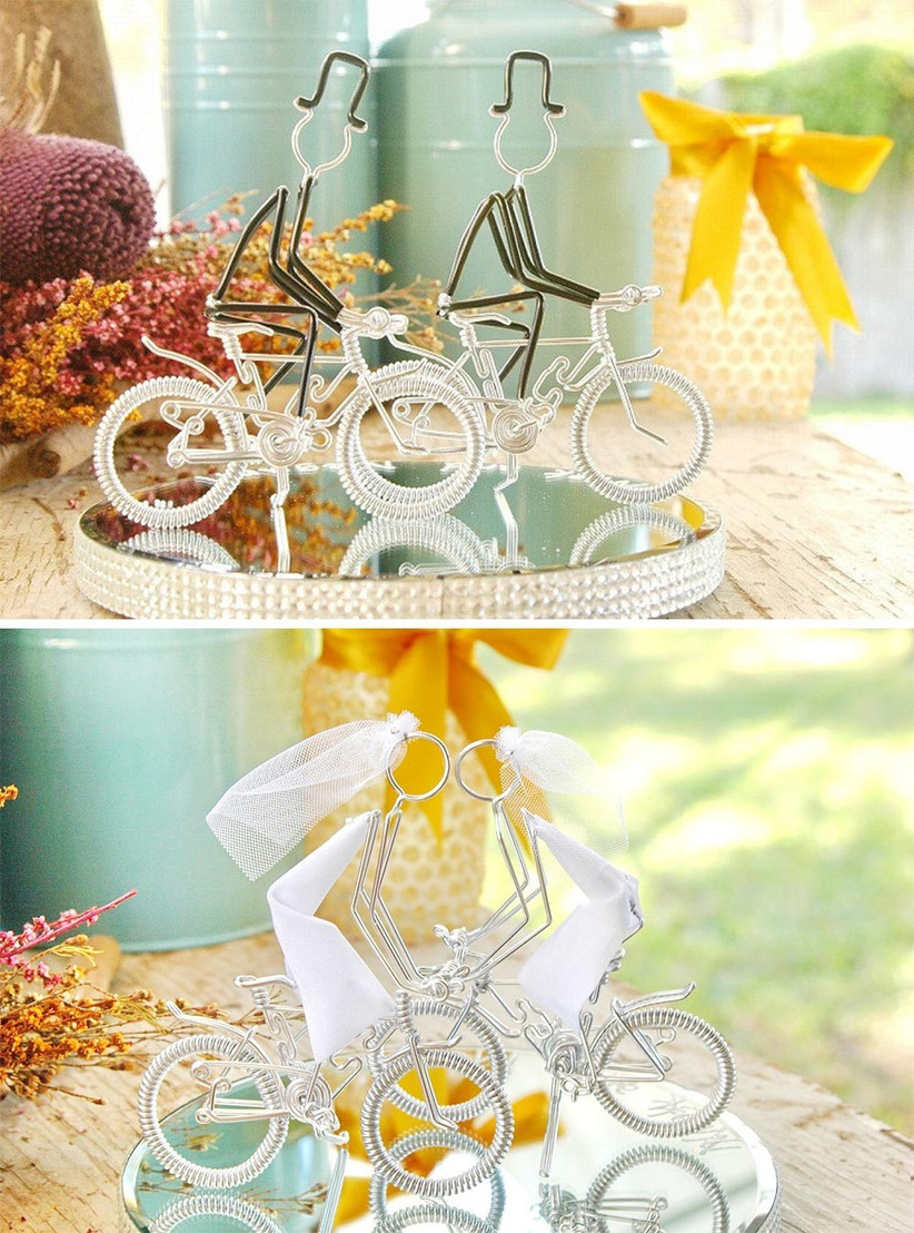 wire-couples-on-bikes-cake-toppers