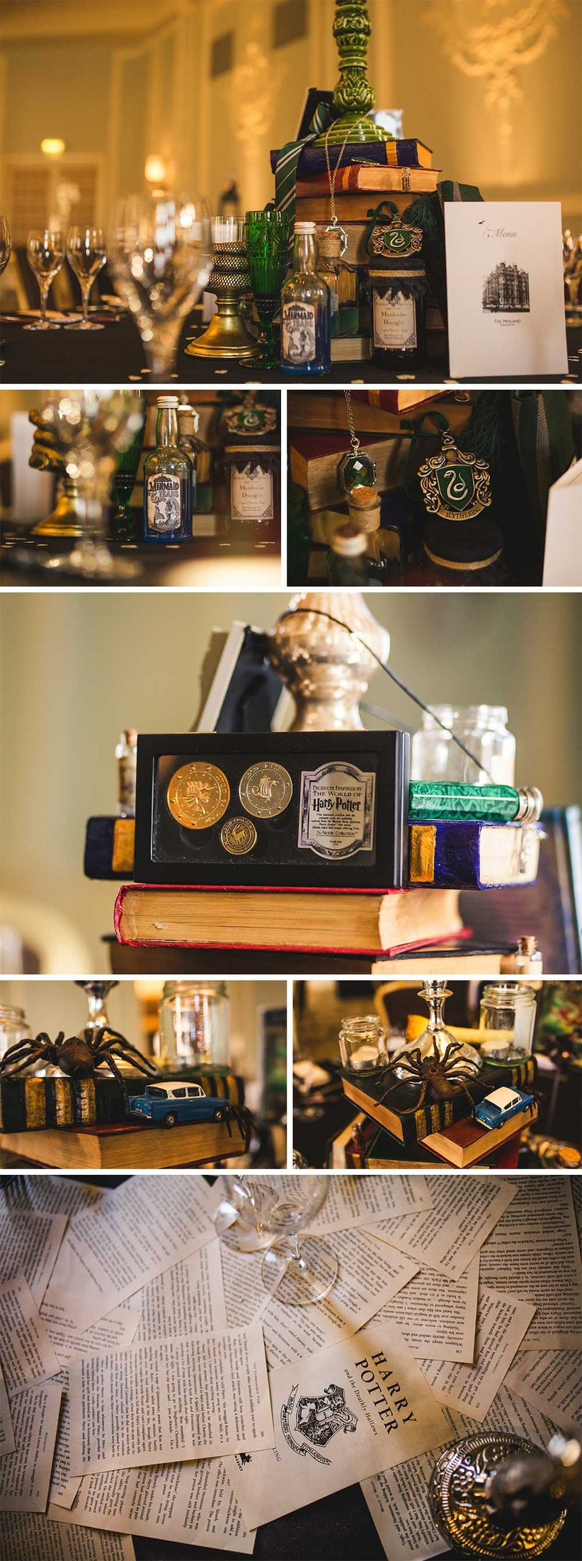 harry-potter-themed-wedding-centrepieces