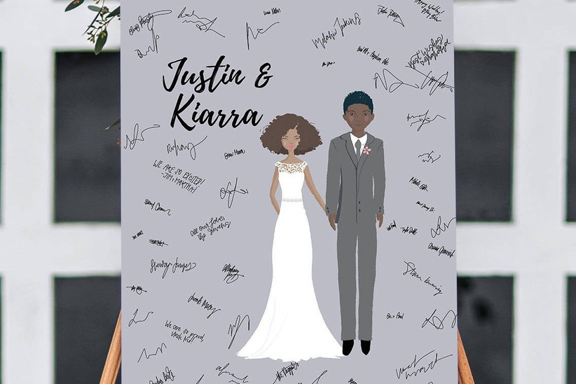 24 Alternative Wedding Guest Book Ideas Hitched Co Uk
