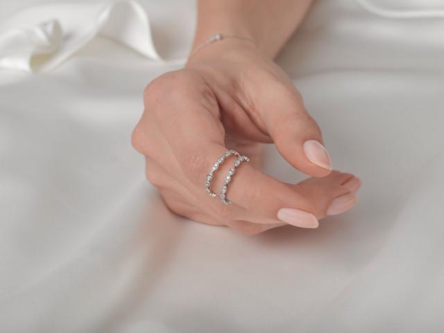 Win a Diamond Eternity Ring with 77 Diamonds, Worth £600!