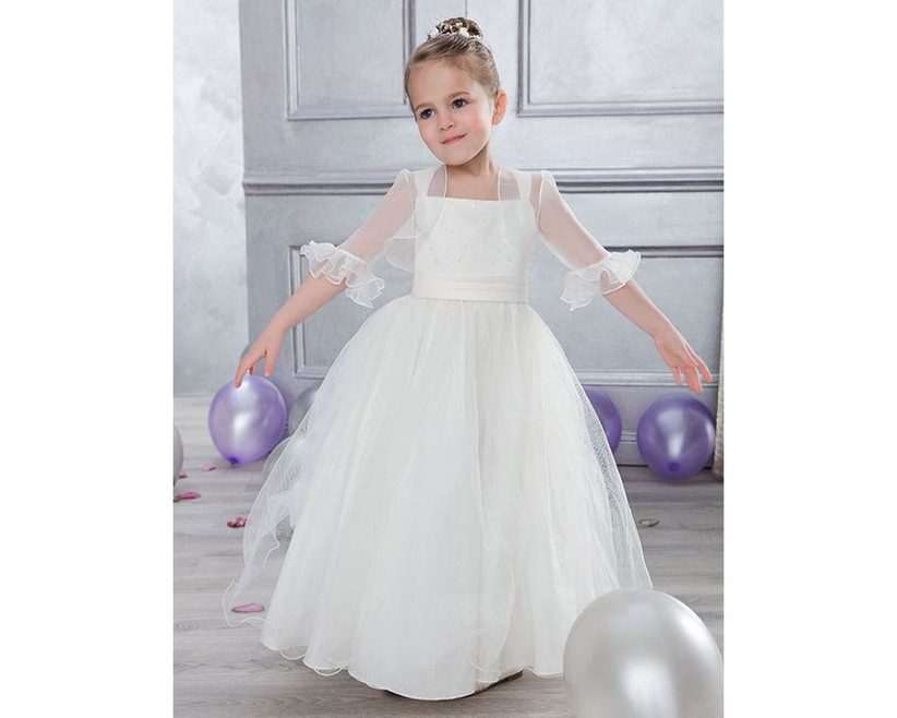 classic-flower-girl-dress-with-sheer-jacket