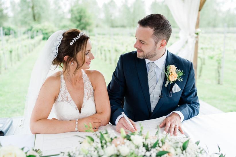 Kate and Scott - West Street Vineyard Real Wedding