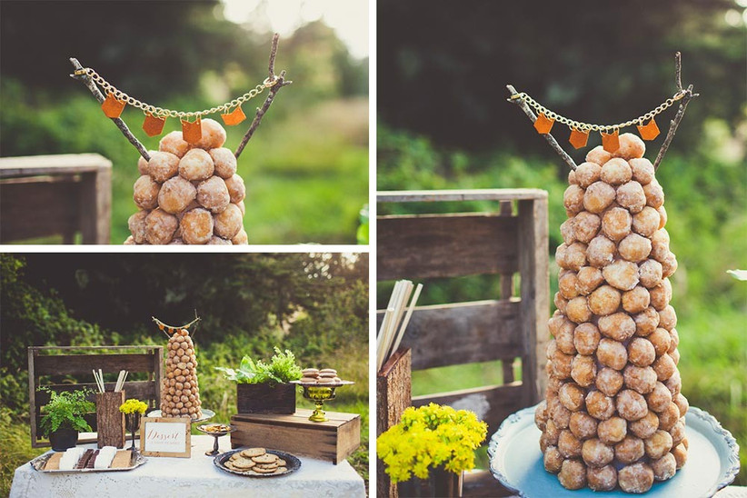 croquembouche-wedding-cake-alternative-displayed-on-a-dessert-table