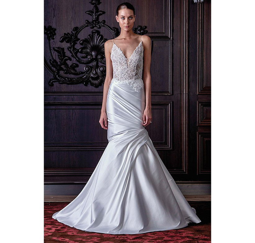 lace-and-satin-fishtail-dress