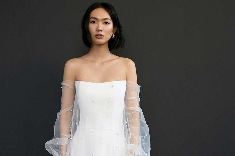 The 10 Biggest Wedding Dress Trends For 2021 Hitched Co Uk