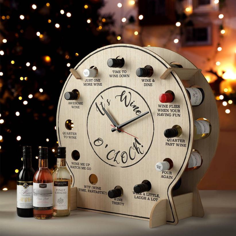 Wine o'clock clock