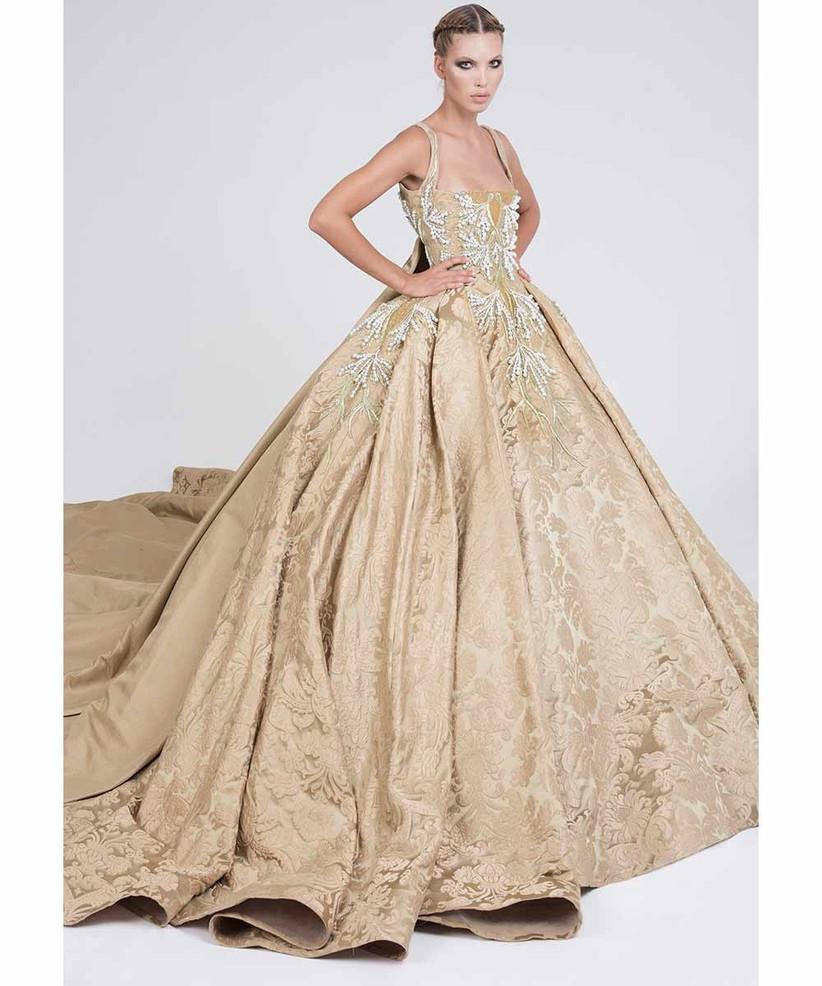 gold-beaded-wedding-dress-by-elio-abou-fayssal