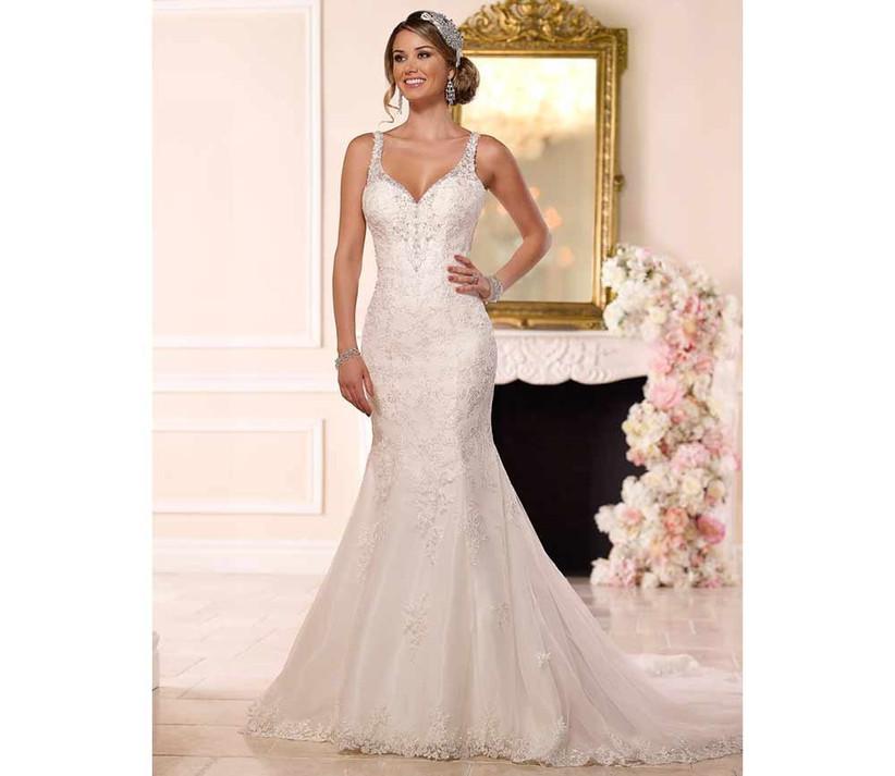 white-embroidered-stella-york-fishtail-wedding-dress