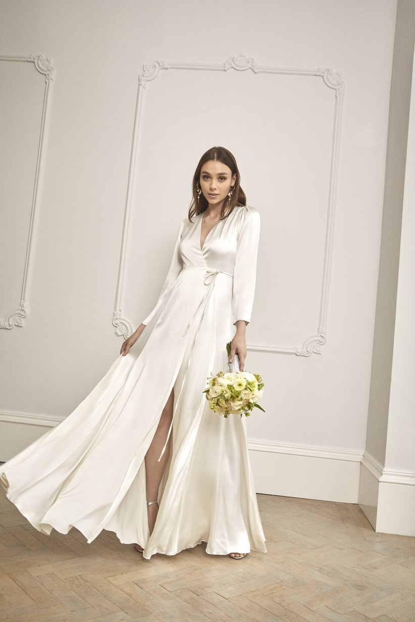 Cheap Wedding Dresses The 47 Best Wedding Dresses On The High Street Hitched Co Uk