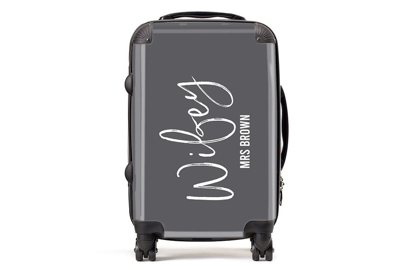 Wifey suitcase