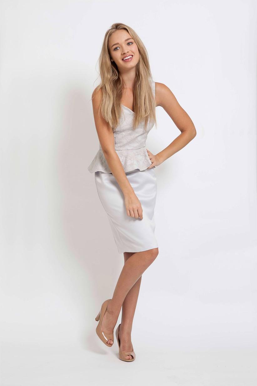 peplum-silver-dress