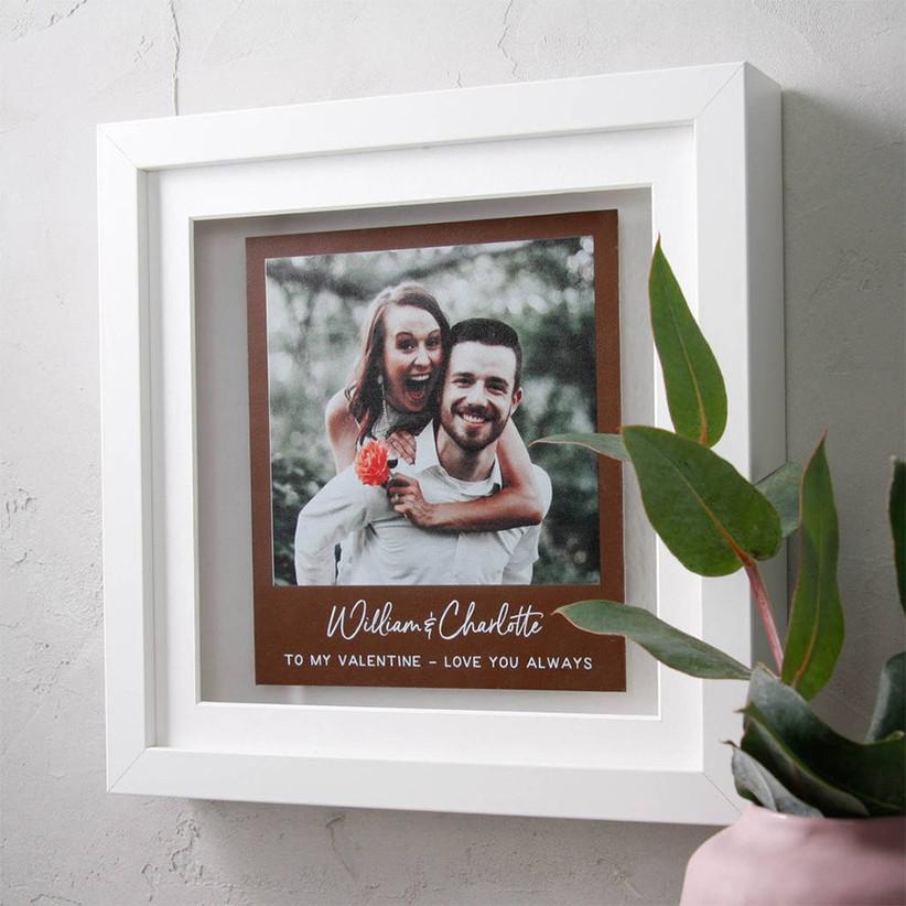 leather-photo-print-for-third-wedding-anniversary