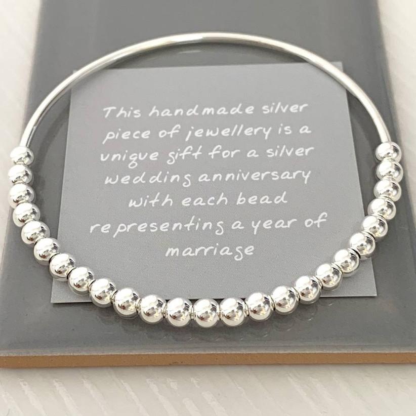 Silver bracelet gift