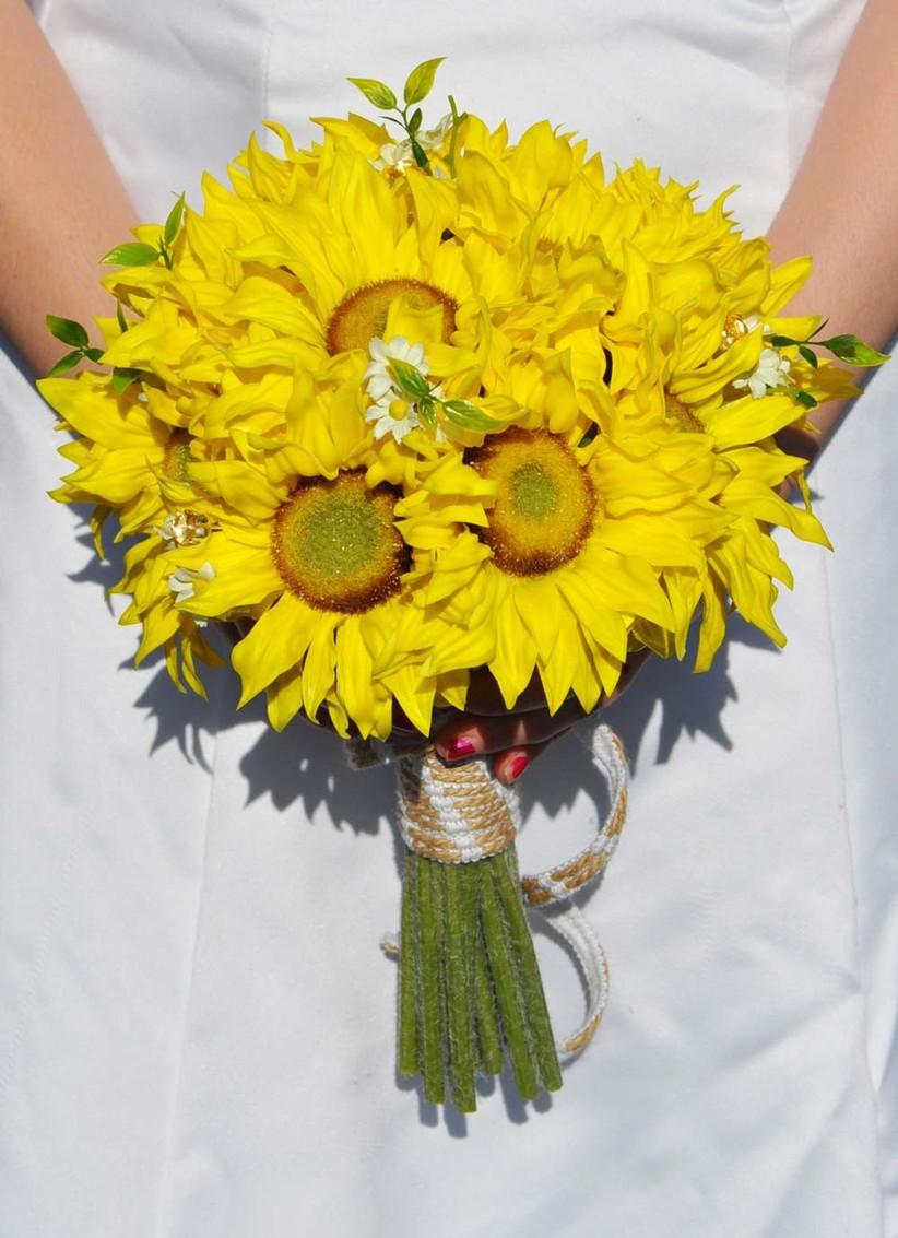 silk-sunflower-bouquet