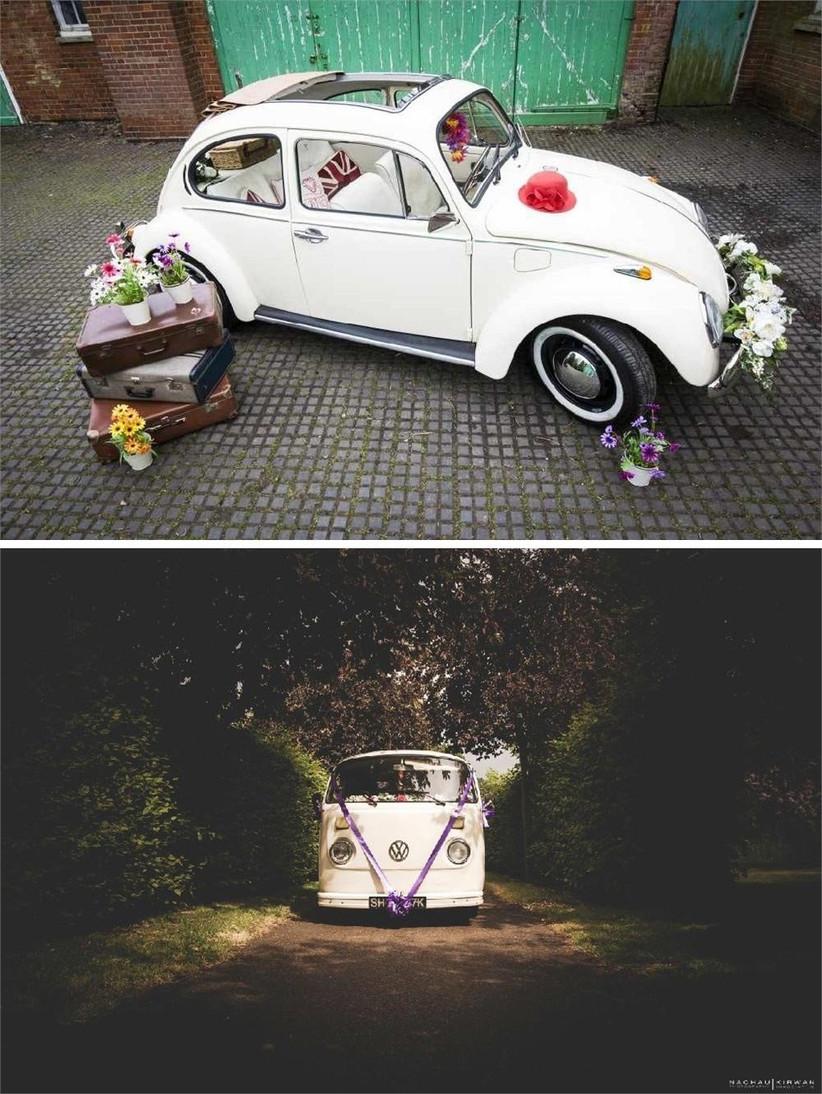 vintage-beetle-and-vw-camper-van-wedding-cars