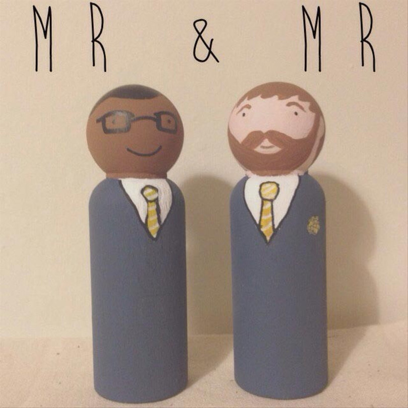 wooden-peg-same-sex-cake-toppers