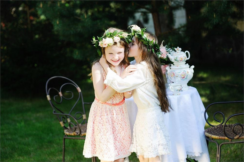 flower-girls-whispering-to-each-other