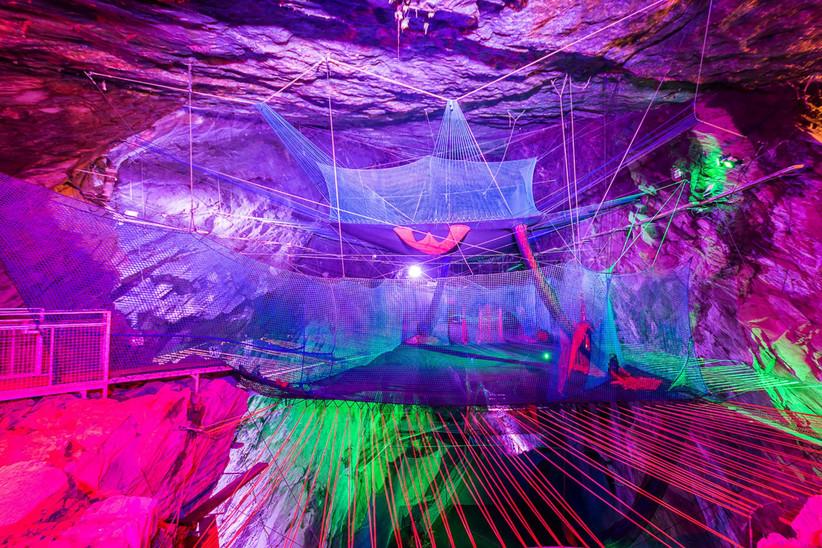 Trampolining Cave