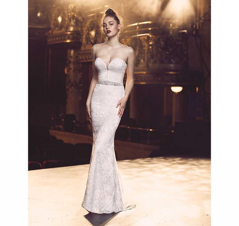 strapless-lave-sexy-wedding-dress