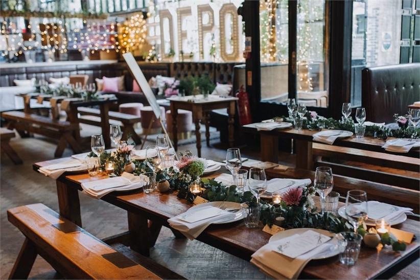 London Pub Wedding Venues The Depot 2
