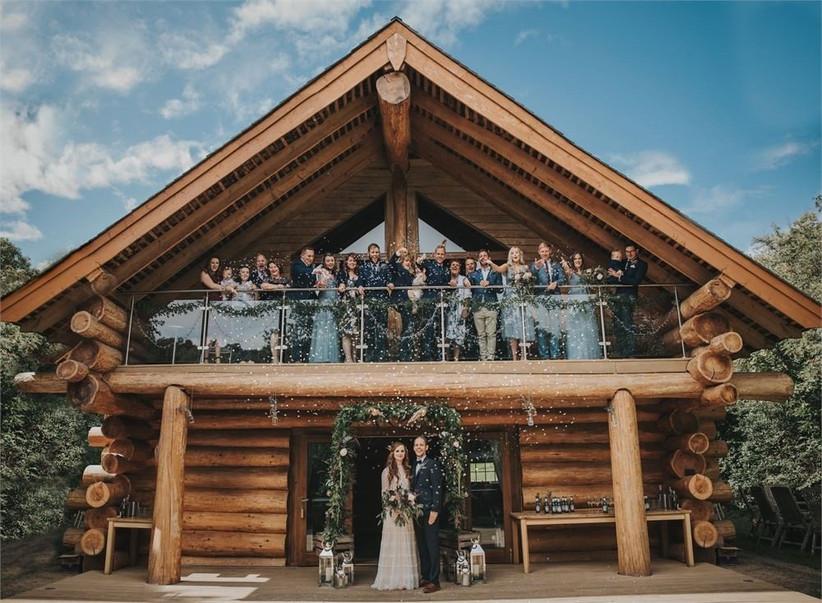 Small Wedding Venues - Hidden River Cabins - ladybirdsphotography