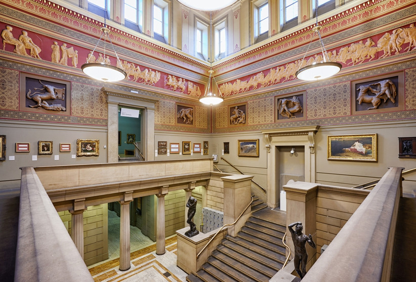Victorian Hall at Manchester Art Gallery