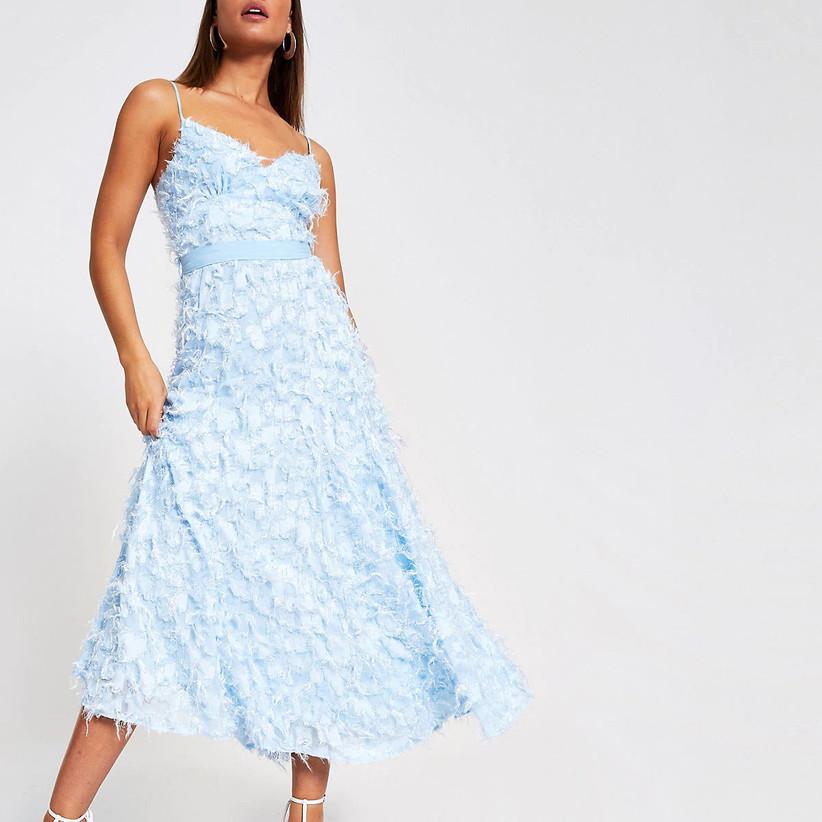 River Island textured dress