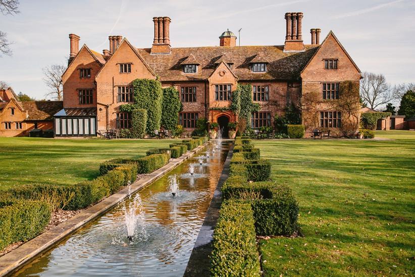 Exterior of Woodhall Manor