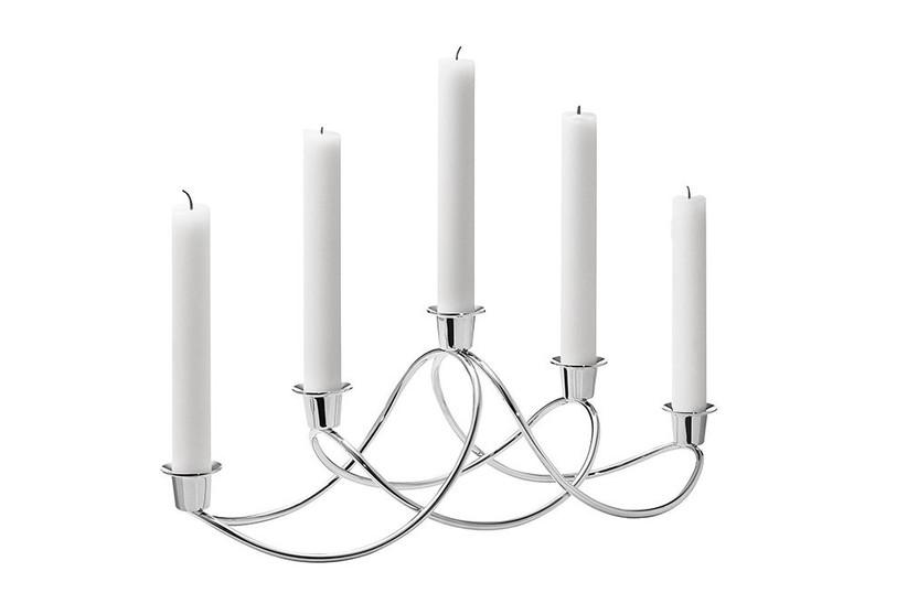 Silver candlesticks