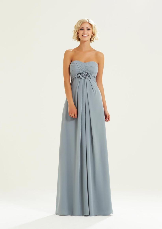 grey-bridesmaid-dress-from-romantica