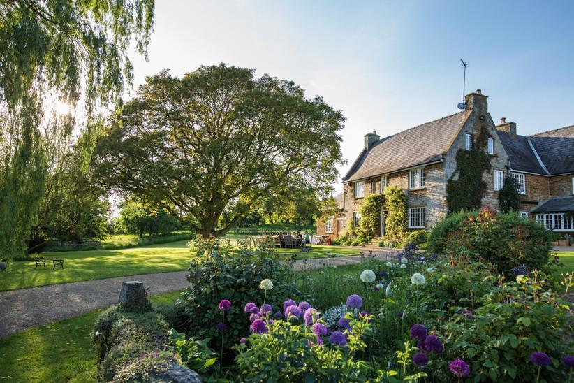 Exterior of Northamptonshire wedding venue Crockwell Farm