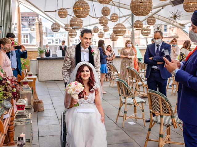 What It's Like to Be a Bride in a Wheelchair