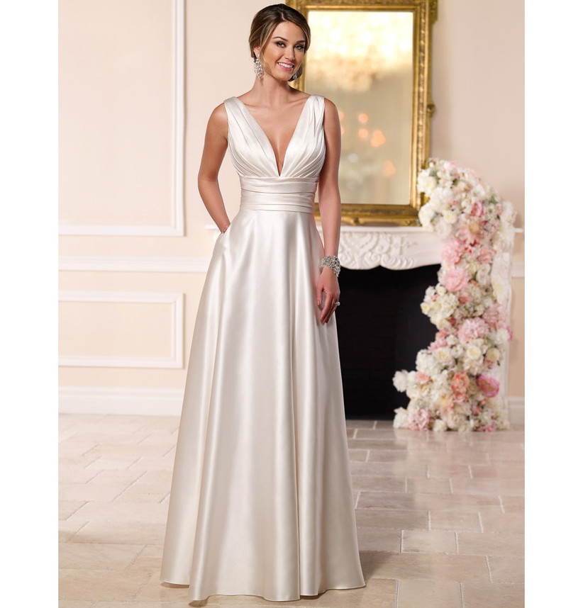 deep-v-satin-gown