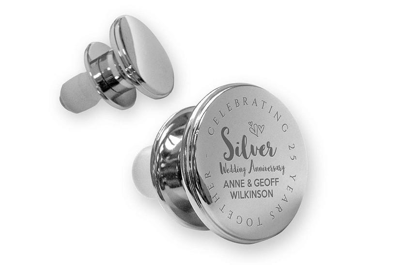 Silver bottle stopper