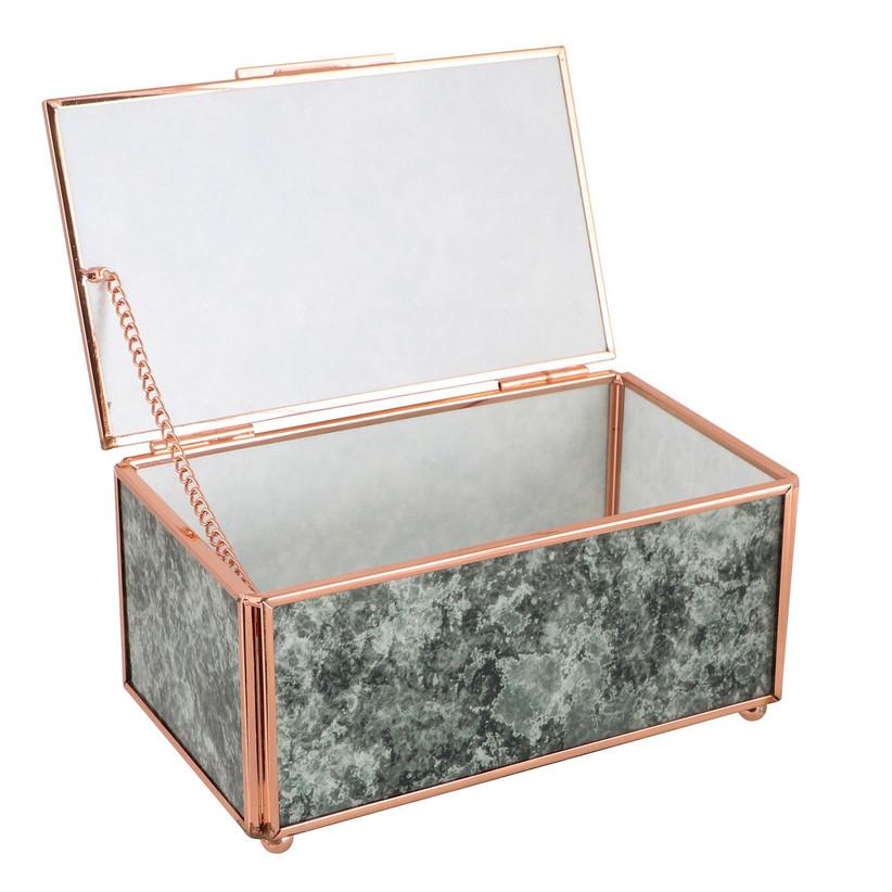 Rose Marble Jewellery Box