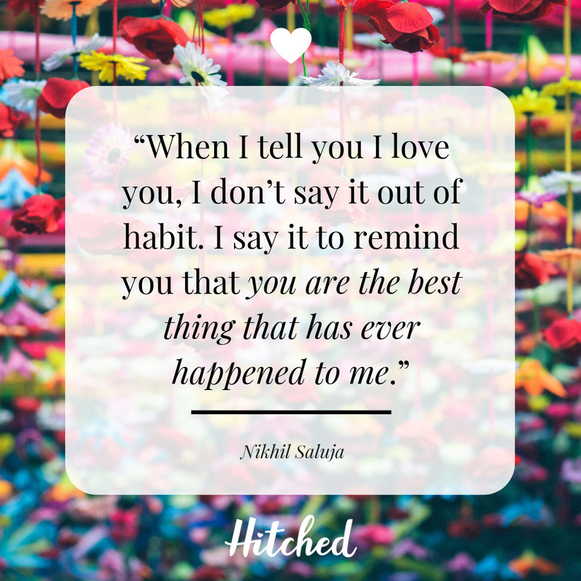 37 Of The Most Romantic I Love You Quotes Hitched Co Uk