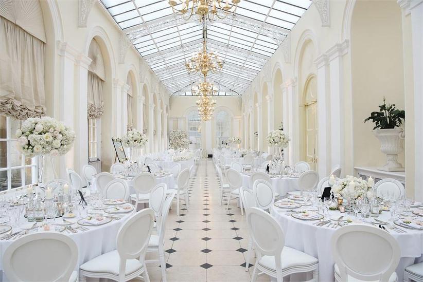 Large ceremony wedding venue