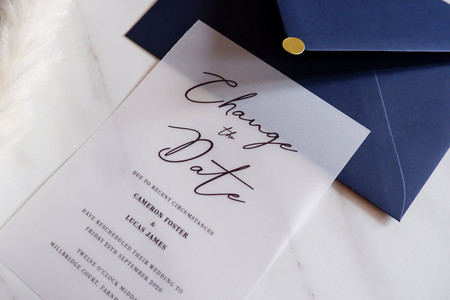 23 of the Best Change the Date Cards if Your Wedding is Postponed